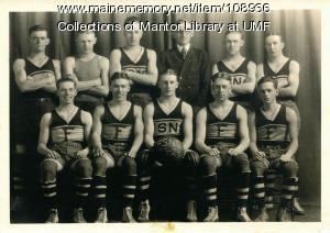 Farmington State Normal School men's basketball team, 1923