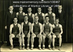Farmington State Normal School men's basketball team, 1934