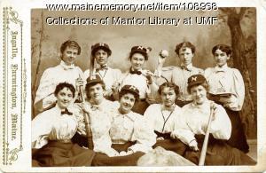 Farmington State Normal School women's baseball team, 1897