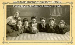 Farmington Normal School women's basketball team, 1906