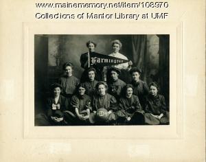 Farmington Normal School women's basketball team, 1909