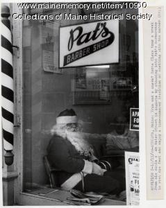 Santa relaxing, Augusta, 1980