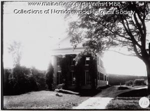 Sophie May House in Norridgewock