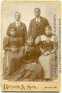 The McIntyre family, Houlton, ca. 1900