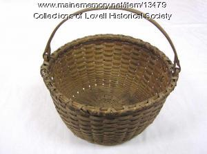 Albra Lord basket, Lovell. ca. 1900