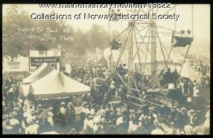 Ferris Wheel, Oxford County Fair, 1908