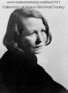 Edna St. Vincent Millay, ca. 1940