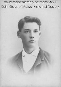 Edwin Arlington Robinson, 1888