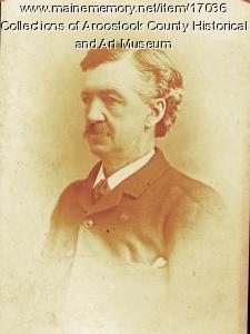 George Cary, Houlton, ca. 1887