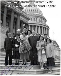 Toy Len Goon in Washington, D.C., 1952