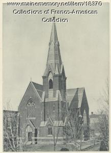 First St. Peter's Church, Lewiston, ca. 1900