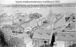 View of Portland Harbor, 1911