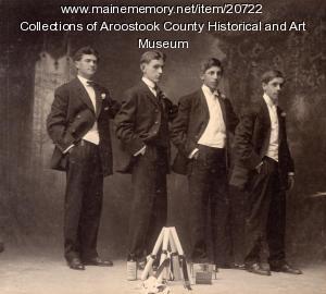 Houlton High School graduating class, 1906