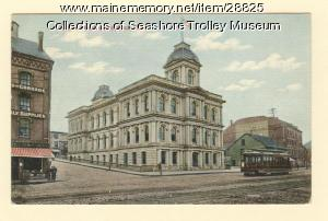 Custom House, Portland, ca. 1910