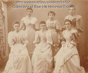 Blue Hill Academy graduates, 1894