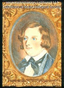 Henry Wadsworth Longfellow miniature