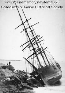 Wreck of the Annie C. Maguire, December 24, 1886