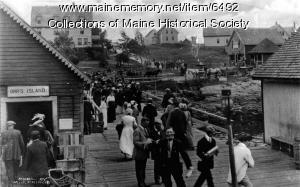 Orr's Island Wharf, ca. 1900