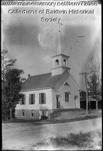 Methodist Church, West Baldwin, ca. 1900