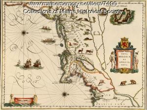 Nova Belgica et Anglia Nova, ca. 1635