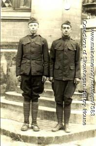 Skowhegan Doughboys in France, 1918, WWI