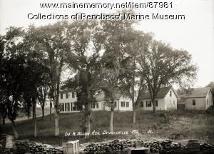 W. R. Allan Residence, Dennysville, ca. 1910