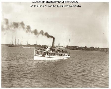 The steamer Maquoit, Portland, ca. 1907