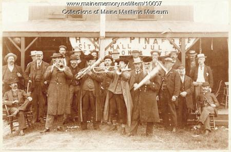 Venerable Cunner Association and Propeller Club Band, 1895