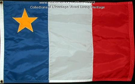 Acadian Flag design