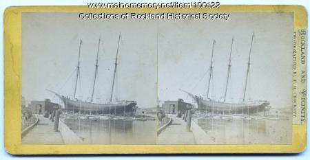 Before the launch, Rockland, ca.1875