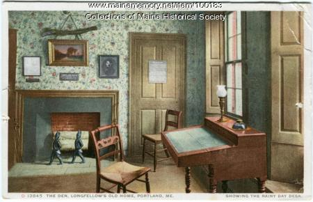 Day Desk Wadsworth Longfellow House Portland Ca