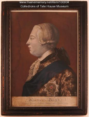 King George the Third, London, ca. 1770