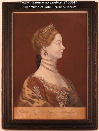 Queen Charlotte, London, ca. 1770