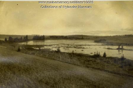 Nadeau Lake lime deposit, 1925