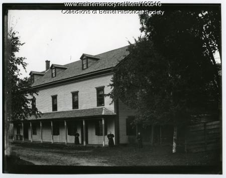 Pattee's Hall, Bethel, ca. 1895