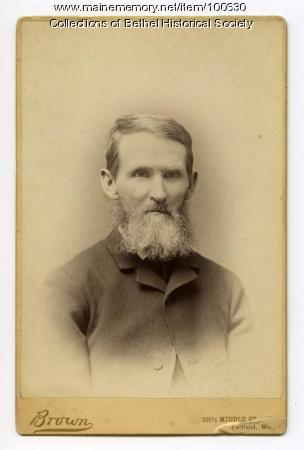 Clark S. Edwards, Bethel, ca. 1890