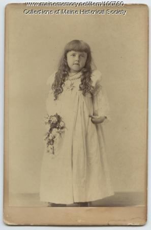Katherine Denison, Portland, ca. 1890