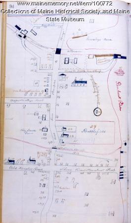 Hampden, Upper and Lower corners, 1835