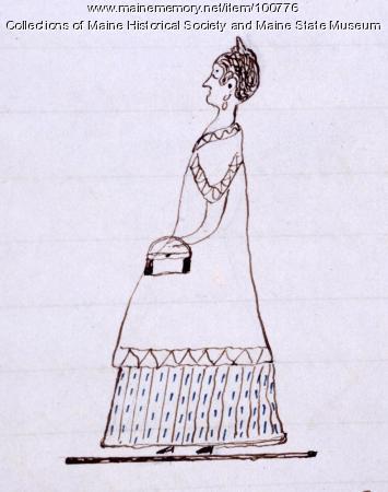 Elizabeth Blowers, Bangor, ca. 1850