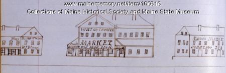 Market Hall, Bangor, 1846