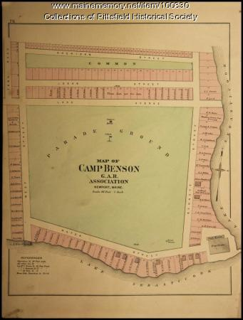 Camp Benson, Newport, 1894