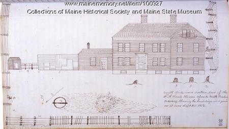 F. A. Soule House, 130 Center St., Bangor, 1852