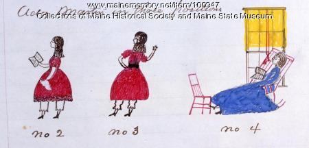 Ada Martin, Bangor, 1865