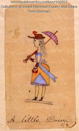 """""""A Little Daisy,"""" Katahdin Iron Works, 1890"""