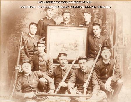 Rifle Club, Houlton, ca. 1888