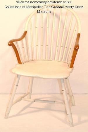 Knox Windsor chair, Thomaston, 1794