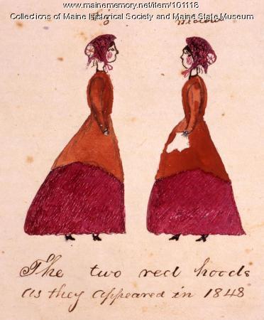 Liz, widow Clark, Bangor, 1848