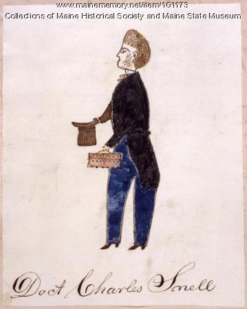 Dr. Charles Snell, Bangor, ca. 1867