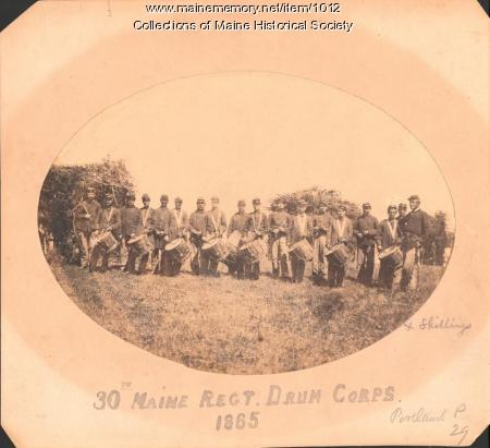 30th Maine Regiment, Drum Corps, 1865