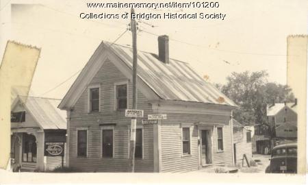 1 Flint Street, Bridgton, ca. 1938